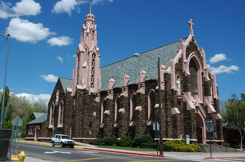 The Church Of The Nativity - Flagstaff - est. 1930 (Nikkor 18-70 DX)