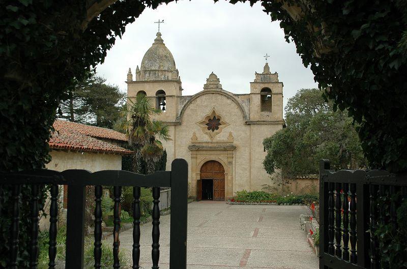 Carmel Mission (San Carlos Borromeo de Carmelo), CA-est. 1770