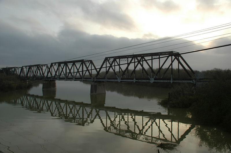 Salinas River Railroad Bridge (between Castroville and Marina CA)