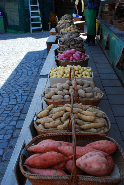 Kartoffel - Marketplatz - Muenchen<br /> <br /> Spud Row