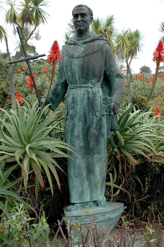 Junipero Serra 1713-1784 Carmel Mission, CA