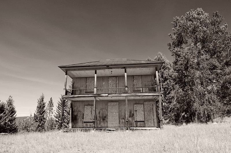 The ghost town of Silver Lake, Montana