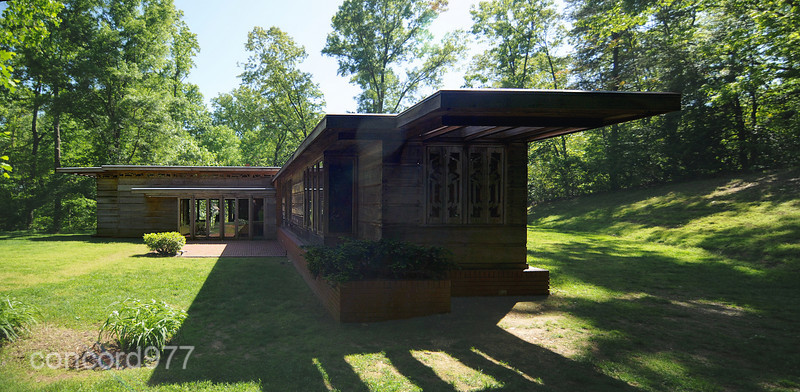 Frank Lloyd Wright - Pope Leighy House