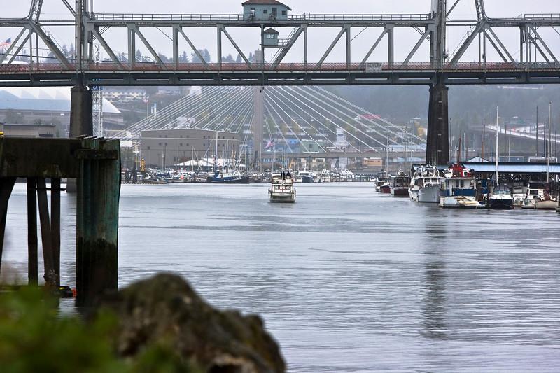 Railroad Bridge over Puyallup River