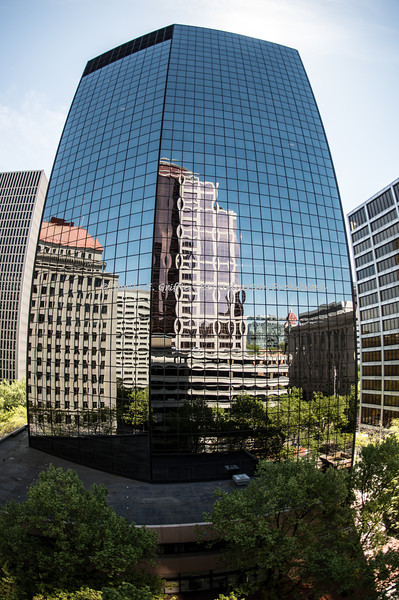 2012 Portland, OR  - Reflection thru a Fish-eye....  Architecture & More, Peter Schütte Workshop