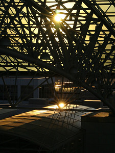 Airport at Sunset (49377932)