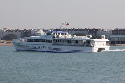 Wightlink Ferry Wight Ryder II