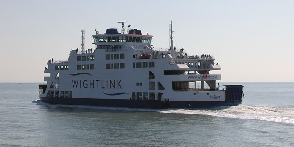Wightlink Ferry St Clare