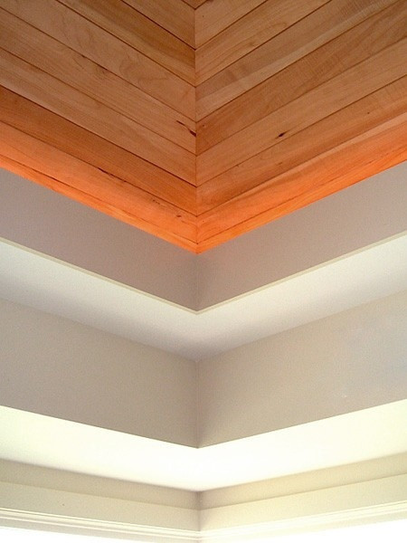 Detail of ceiling and soffett