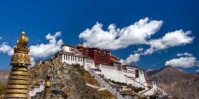 Potala Palace, Lhasa, Tibet 2011