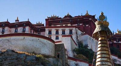 Another viewing angle of the Potala Palace.