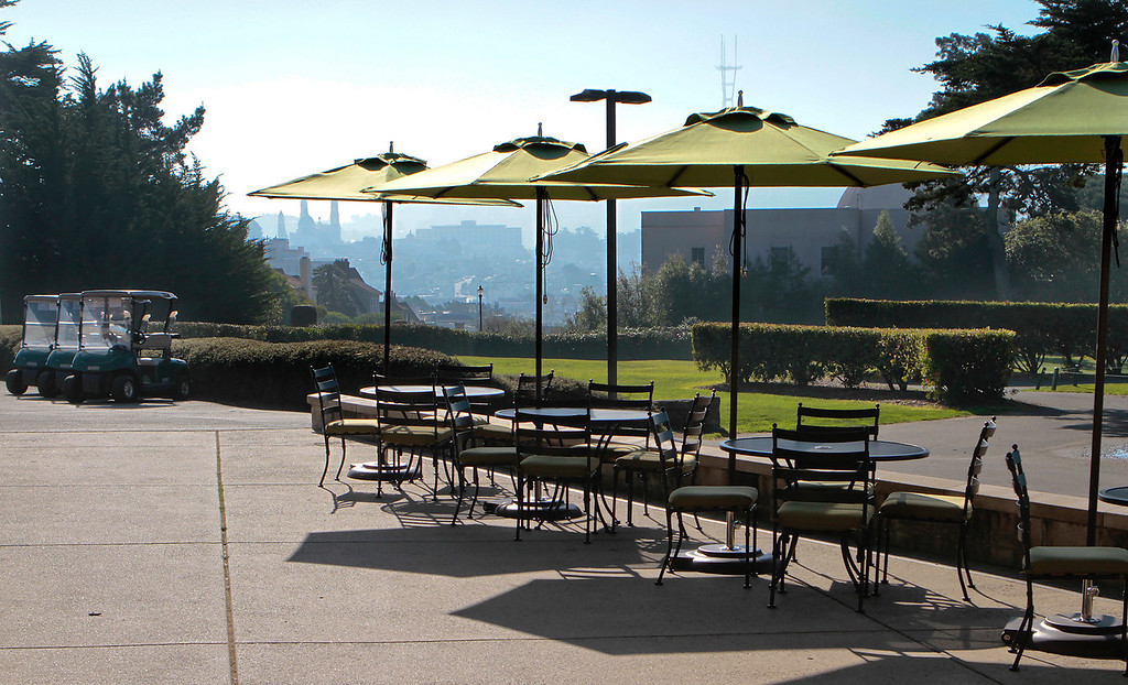 The Presidio Cafe in San Francisco, Calif.,  is seen on Tuesday, January 24th,  2011.