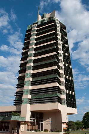 The Price Tower (1952), Frank Lloyd Wright Bartlesville, Oklahoma.