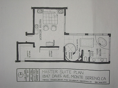 Master Suite - Monte Sereno, California