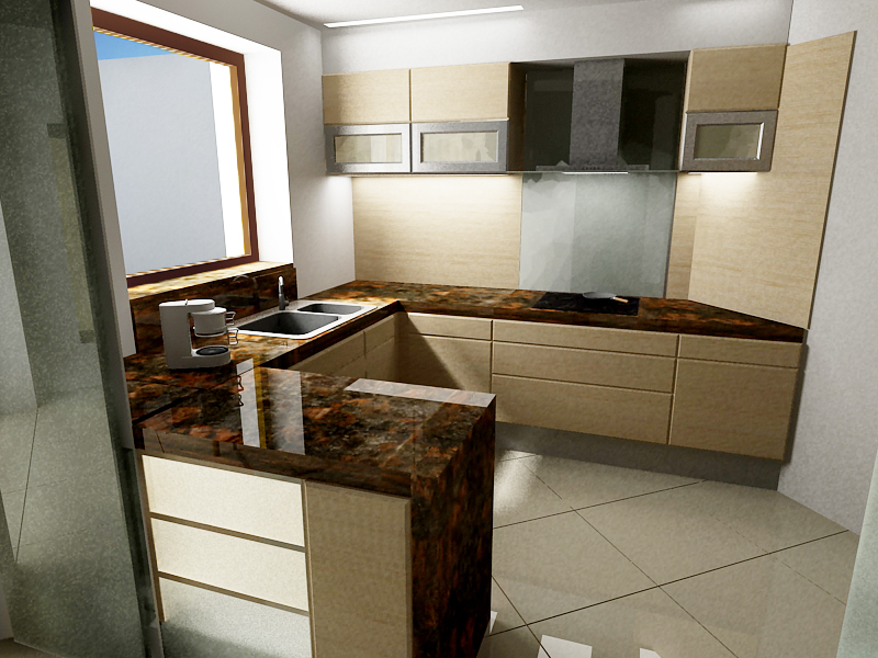 1st - Kitchen (preliminary)