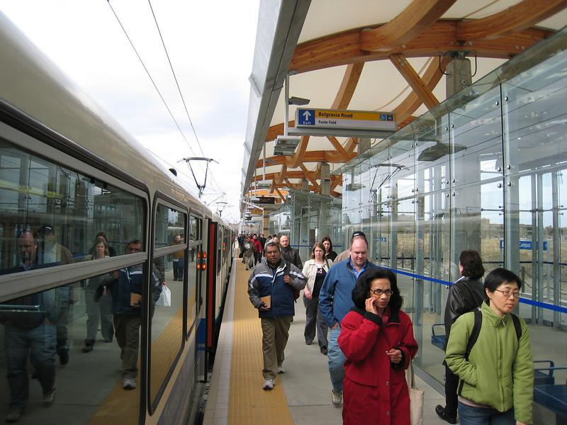 South Campus Station, Edmonton LRT