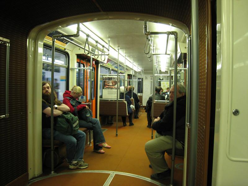 That 70s train, on the Edmonton LRT.