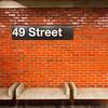 "A ""modernized"" station in New York."