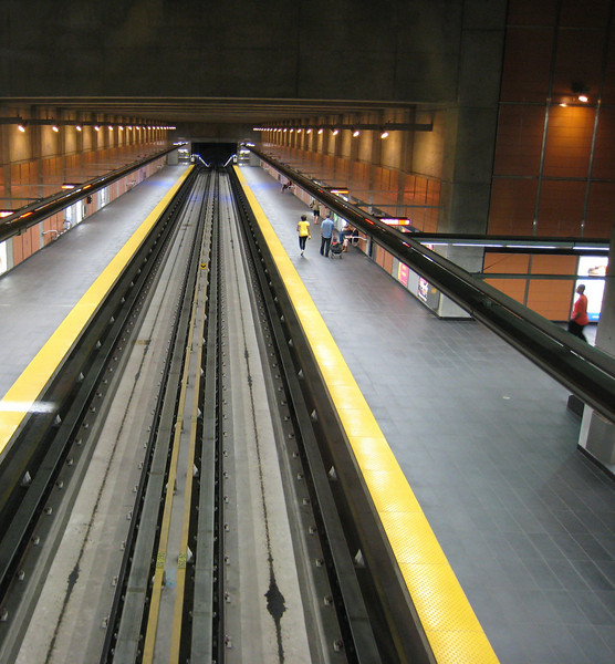 Cartier Station, Montreal Metro.