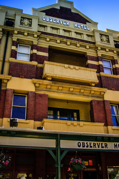 Sydney, NSW, Australia<br /> The Observer Hotel, The Rocks. Constructed 1908-1909.