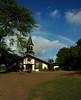 Lili'uokalani Church and a rainbow <br><br>North Shore of O'ahu, Hawai'i