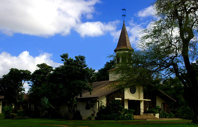 Lili'uokalani Church North Shore of O'ahu, Hawai'i