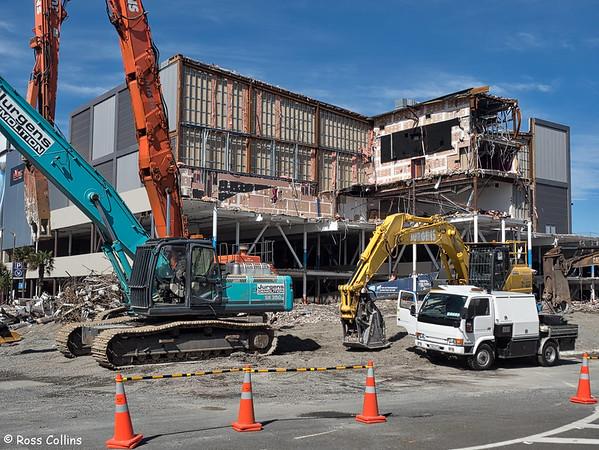 Queensgate Demolition 2017