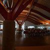 Inside the cafeteria at Quest University in Squamish.