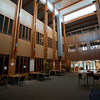 Inside the Library at Quest University in Squamish.