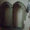 19th century arches on the south side of the chancel. Not the capitals on each arch.