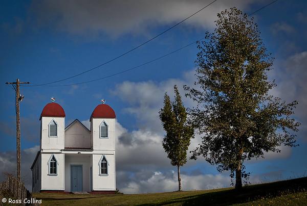 Ratana Temple at the Te Puke Marae, Raetihi
