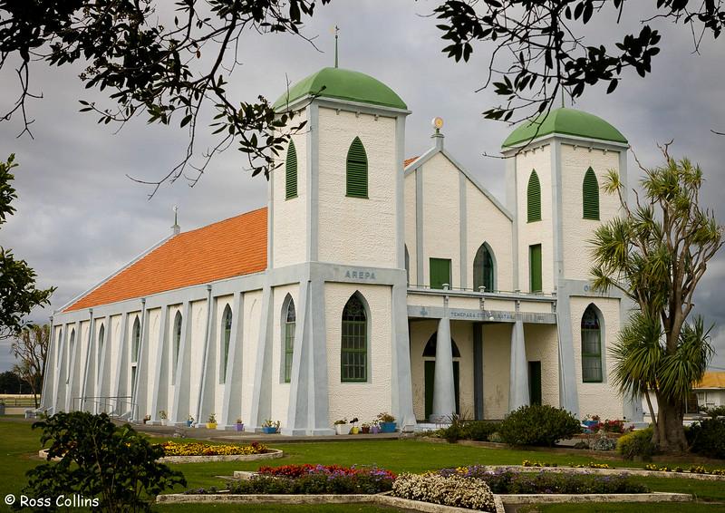 Ratana Temple at Ratana Village, 11 April 2007