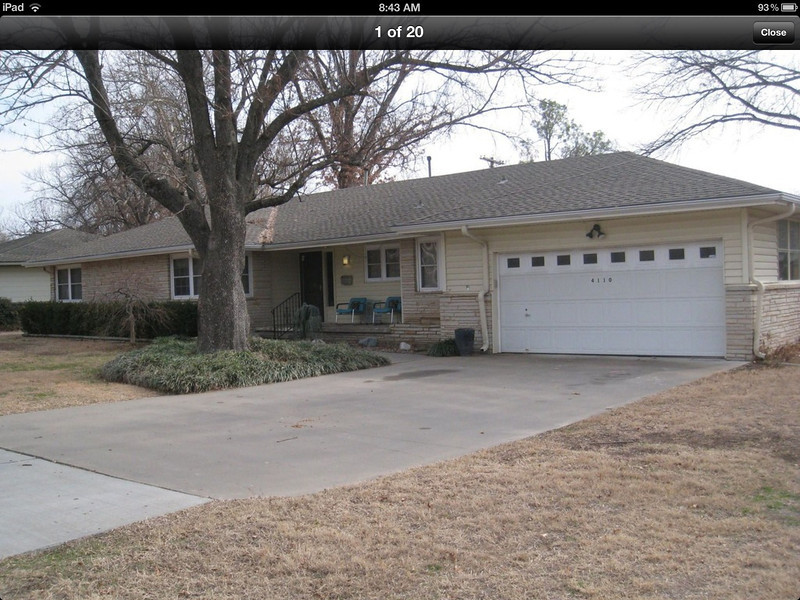 house that sold in midtown before we could look at it. Smaller, but liked the interior style.