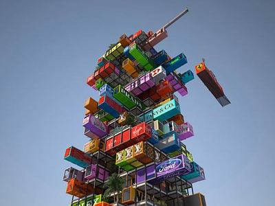 Hotel Made From Recycled Shipping Containers