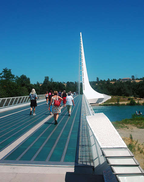 Reddings Sundial Bridge