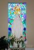 Beautiful sculpture in Saint Raphael Parish Church in East Meadow,NY.