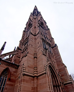 Steeple of The Cathedral Of The Incarnation.  Garden City,NY.