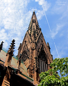 Steeple on The Cathedral Of The Incarnation in Garden City,NY.