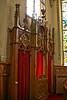 Confessional at Saints Peter and Paul Catholic Church, 1906, Petersburg, Iowa