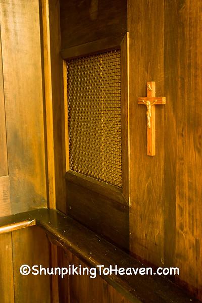 Confessional, St. Joseph's Catholic Church, Somerset, Ohio