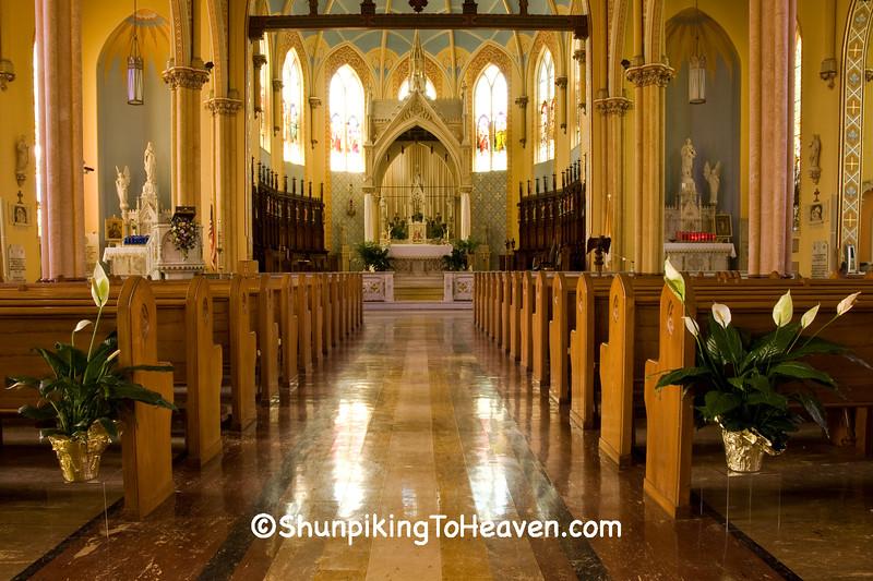 Church of Ste, Genevieve, Ste. Genevieve County, Missouri