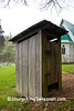 Outhouse at St John's Episcopal Church, Watauga County, North Carolina