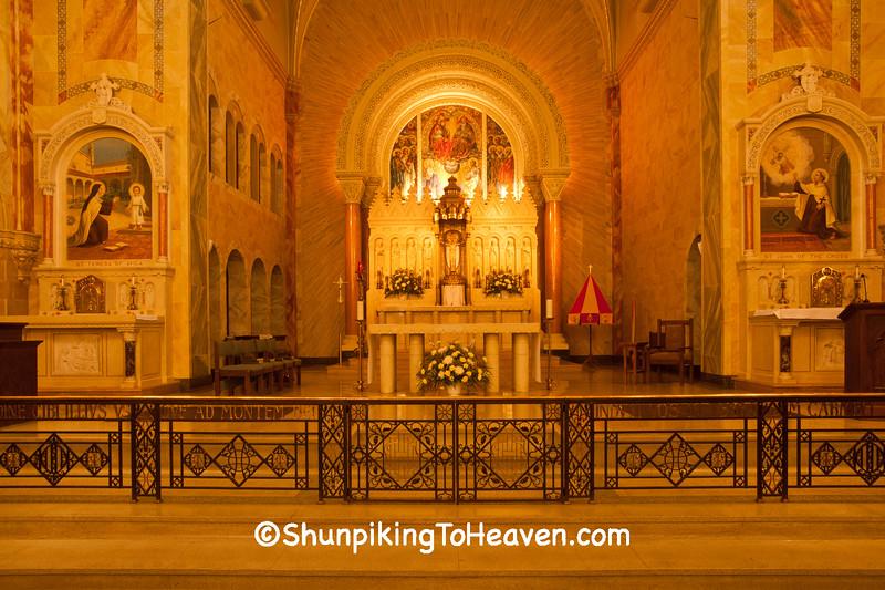Sanctuary at Holy Hill  Basilica, Washington County, Wisconsin