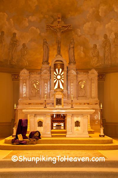 Lent at St. Luke's Catholic Church, Plain, Wisconsin