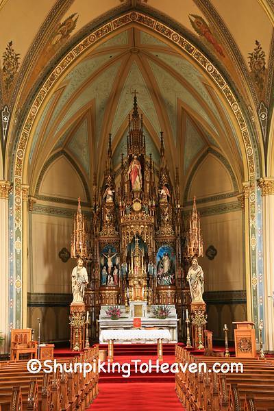 Saints Peter and Paul Catholic Church, Petersburg, Iowa