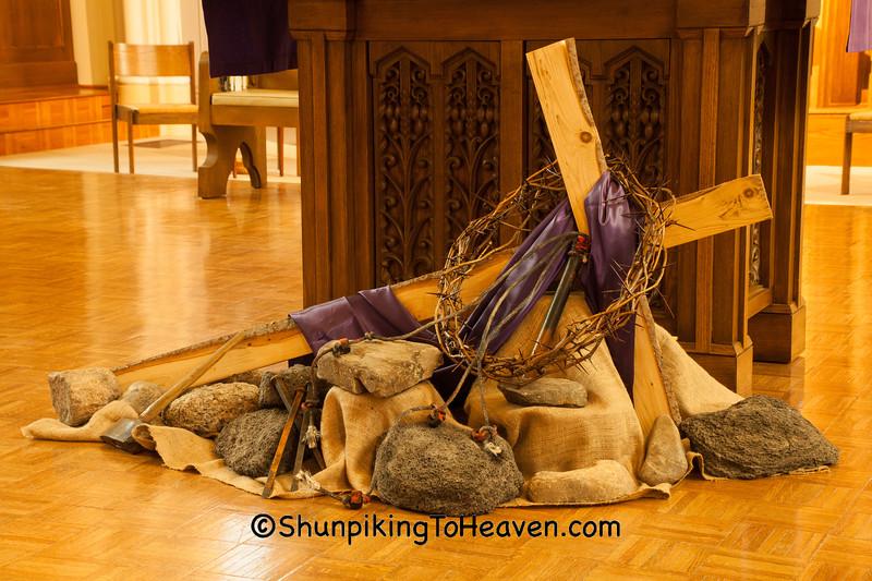 Lenten Cross, St. Joseph's Catholic Church, Appleton, Wisconsin