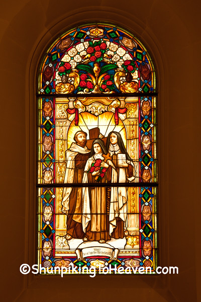 Stained Glass at St. Thérèse Chapel, Holy Hill, Washington County, Wisconsin