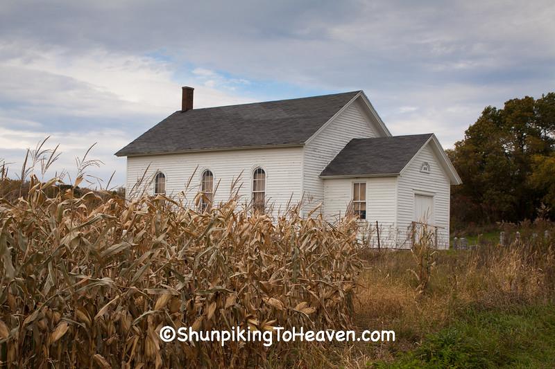 St. Paul's Ev. Lutheran Church, Columbia County, Wisconsin