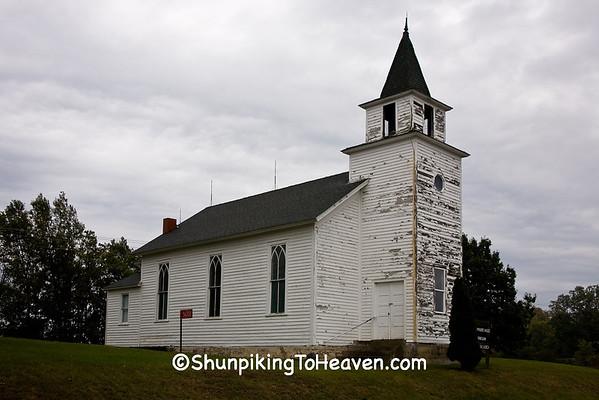 West Prairie Hauge Norwegian Lutheran Church, Crawford County, Wisconsin