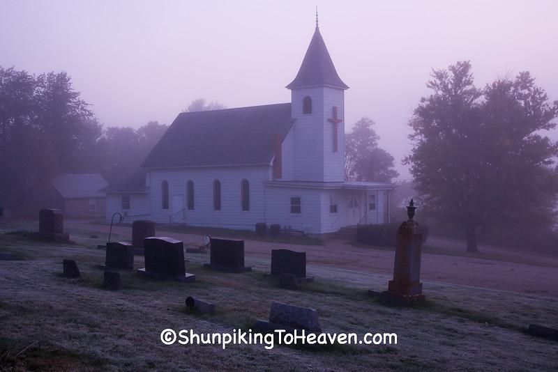 Ash Creek United Methodist Church, Richland County, Wisconsin